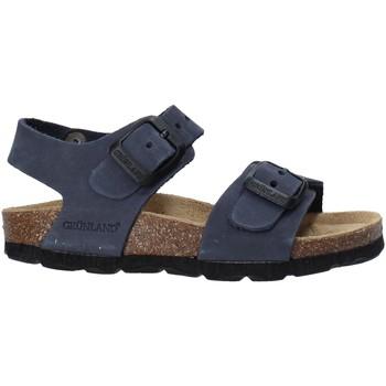 Boty Děti Sandály Grunland SB0205 Modrý