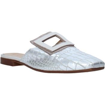 Boty Ženy Pantofle Mally 6886 Stříbrný