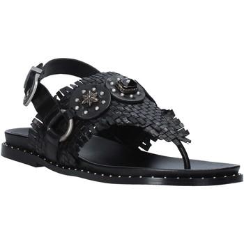 Boty Ženy Sandály Mally 6562 Černá