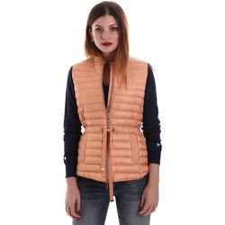 Textil Ženy Prošívané bundy Geox W8225A T2412 Oranžový