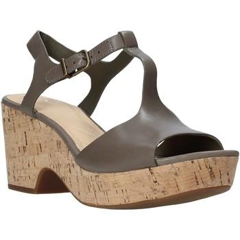 Boty Ženy Sandály Clarks 26142158 Zelený