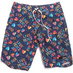 Textil Muži Plavky / Kraťasy Rrd - Roberto Ricci Designs 18322 Modrý