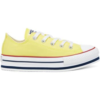 Boty Děti Nízké tenisky Converse 668283C Žlutá