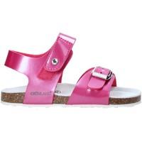 Boty Děti Sandály Grunland SB0375 Růžový