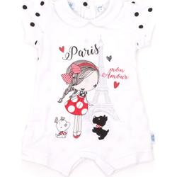 Textil Děti Overaly / Kalhoty s laclem Melby 20P7021 Bílý