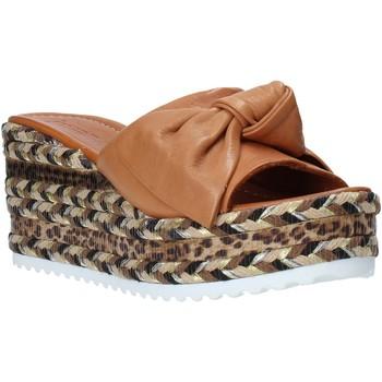 Boty Ženy Dřeváky Bueno Shoes N3604 Hnědý