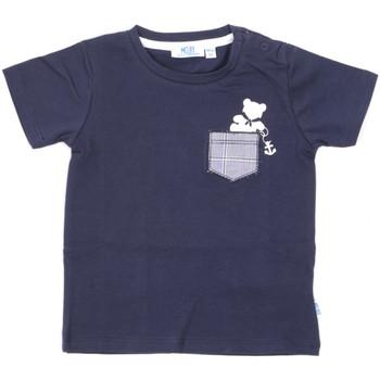 Textil Děti Trička s krátkým rukávem Melby 20E5070 Modrý