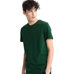 Textil Muži Trička s krátkým rukávem Superdry M1010067A Zelený