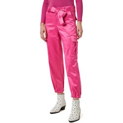 Textil Ženy Cargo trousers  Liu Jo WA0351 T4153 Růžový