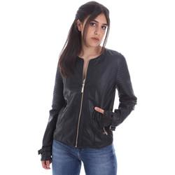 Textil Ženy Kožené bundy / imitace kůže Gaudi 011BD38001 Černá