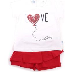 Textil Dívčí Set Melby 20L7001 Červené