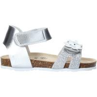 Boty Dívčí Sandály Grunland SB1545 Stříbrný