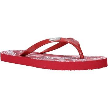 Boty Ženy Žabky Calvin Klein Jeans E8853 Červené