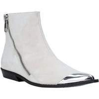 Boty Ženy Polokozačky Calvin Klein Jeans B4R0450 Bílý