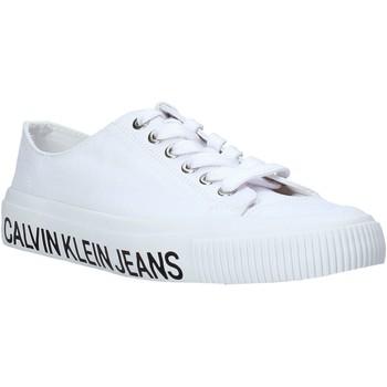 Boty Ženy Nízké tenisky Calvin Klein Jeans B4R0807X Bílý