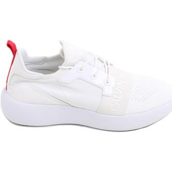 Boty Ženy Nízké tenisky Calvin Klein Jeans RE9809 Bílý