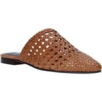 Boty Ženy Pantofle Mfw 161357MW Hnědý