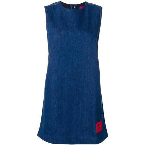 Textil Ženy Krátké šaty Calvin Klein Jeans J20J207406 Modrý