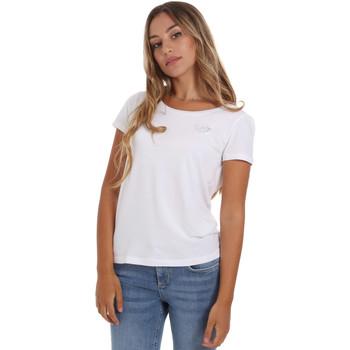 Textil Ženy Trička s krátkým rukávem Ea7 Emporio Armani 8NTT64 TJ28Z Bílý