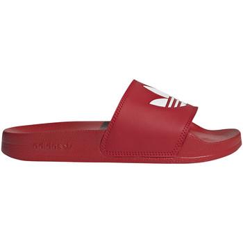 Boty Děti pantofle adidas Originals FU9179 Červené