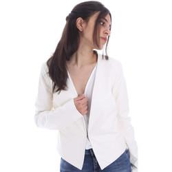 Textil Ženy Bundy Gaudi 011FD38004 Bílý