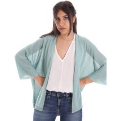 Textil Ženy Svetry / Svetry se zapínáním Gaudi 011FD53010 Modrý