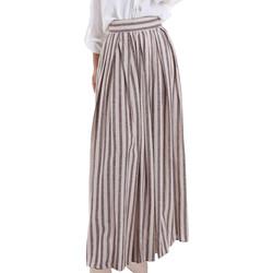 Textil Ženy Sukně Gaudi 011FD75010 Béžový