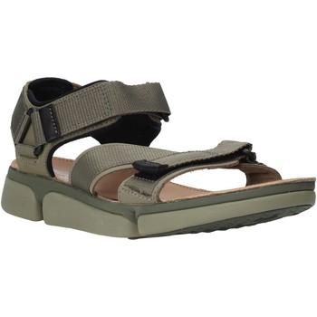 Boty Muži Sandály Clarks 26139564 Zelený