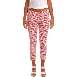 Textil Ženy Tříčtvrteční kalhoty Gaudi 811BD25013 Bílý