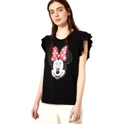 Textil Ženy Trička s krátkým rukávem Liu Jo FA0408 J5904 Černá