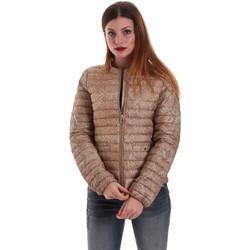Textil Ženy Prošívané bundy Geox W8228A TF243 Béžový