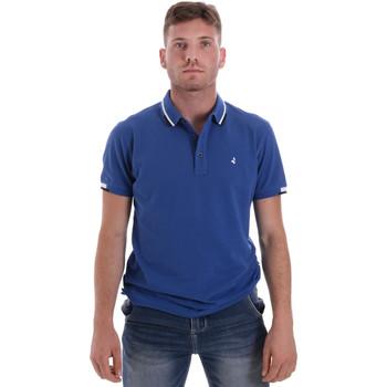 Textil Muži Polo s krátkými rukávy Navigare NV82113 Modrý