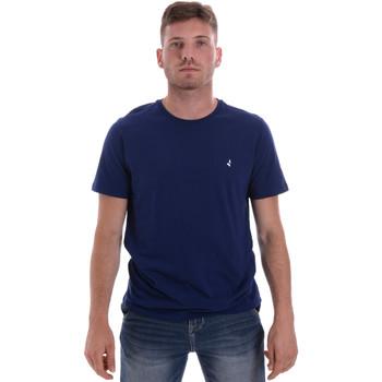 Textil Muži Trička s krátkým rukávem Navigare NV31126 Modrý