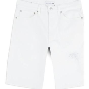 Textil Muži Kraťasy / Bermudy Calvin Klein Jeans J30J314643 Bílý