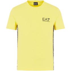 Textil Muži Trička s krátkým rukávem Emporio Armani EA7 3HPT07 PJ03Z Žlutá