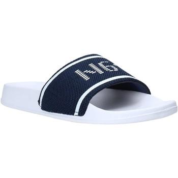 Boty Muži pantofle Navigare NAM010005 Modrý