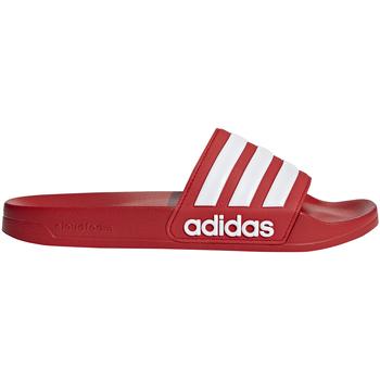 Boty Muži pantofle adidas Originals AQ1705 Červené