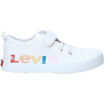 Boty Děti Nízké tenisky Levi's VORI0013T Bílý