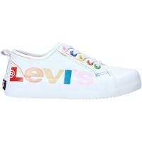 Boty Děti Nízké tenisky Levi's VBET0003T Bílý