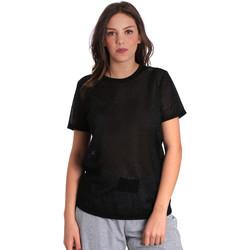 Textil Ženy Trička s krátkým rukávem Converse 10007575 Černá