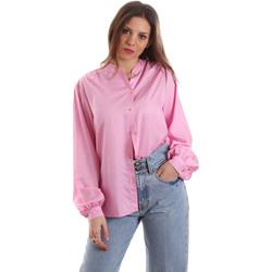 Textil Ženy Košile / Halenky Versace B0HVB62307619445 Růžový