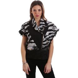 Textil Ženy Bundy Versace C0HVB92DHRC5X899 Černá