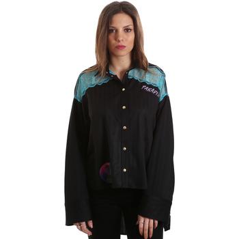 Textil Ženy Košile / Halenky Versace B0HVB60310623899 Černá