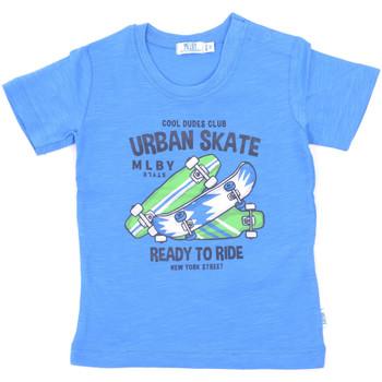 Textil Děti Trička s krátkým rukávem Melby 20E7370 Modrý