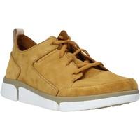 Boty Muži Nízké tenisky Clarks 26139571 Žlutá