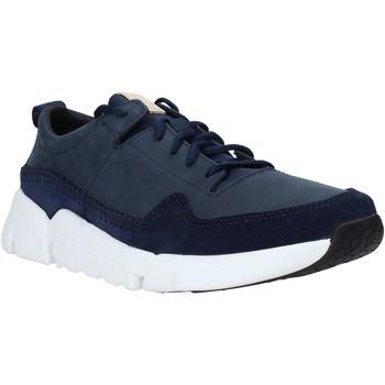 Boty Muži Nízké tenisky Clarks 26141432 Modrý