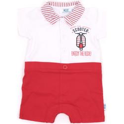 Textil Dívčí Overaly / Kalhoty s laclem Melby 20P7370 Červené