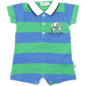 Textil Děti Overaly / Kalhoty s laclem Melby 20P7130 Modrý
