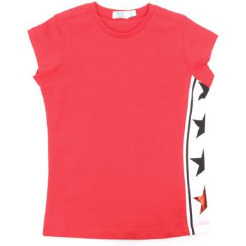 Textil Dívčí Trička s krátkým rukávem Melby 70E5645 Červené