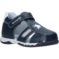 Boty Děti Sandály Nero Giardini E023891M Modrý